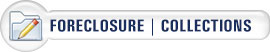 foreclosure and collections button